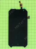 Дисплей Blackview BV6000 с сенсором, черный self-welded
