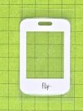 Стекло дисплея Fly FF177, белый, Оригинал #V18C-F177-1091-200