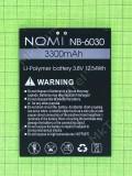 Аккумулятор NB-6030 Nomi i6030 Note X 3300mAh, Оригинал