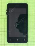 Дисплей Fly FS408 Stratus 8 с сенсором, панелью, черный used