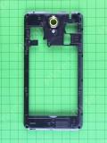 Задняя панель Nomi i5001 EVO M3, черный Оригинал