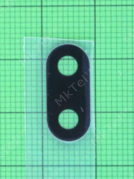 Стекло камеры Xiaomi Redmi 6, черный, Оригинал