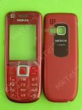 Корпус Nokia 3120 classic, 2 части с клавиатурой, красный copyAA