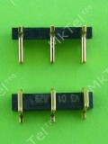 Коннектор аккумулятора Nokia Asha 303 3-POLE P3.7 H4.5, Оригинал #5469741
