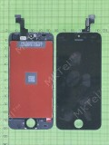 Дисплей iPhone 5S с сенсором, рамками датчиков, черный copyAA