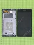 Дисплей Sony Xperia C C2305 S39h в сборе, черный used