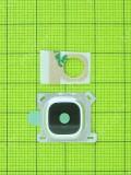Крышка камеры с стеклом Samsung Galaxy E5 E500H, белый copyAA