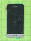 Дисплей Samsung Galaxy J1 SM-J120F с сенсором, золотистый, Оригинал #GH97-18224B