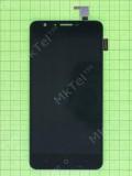 Дисплей Doogee Y6 с сенсором, черный self-welded