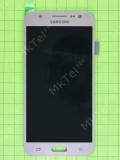 Дисплей Samsung Galaxy J5 J500H с сенсором, TFT матрица без регулировки, золотистый copyAAA