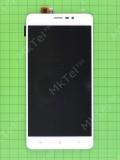 Дисплей Blackview A8 Max с сенсором, белый self-welded