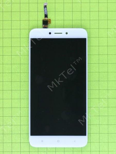 Дисплей Xiaomi Redmi 4X с сенсором, белый copyAA