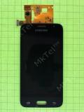 Дисплей Samsung Galaxy J1 2016 J120F с сенсором, TFT матрица, черный copyAAA