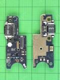 Плата разъема Type-C Xiaomi Pocophone F1, Оригинал