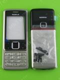 Корпус Nokia 6300 в сборе, серебристый copyAA