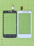 Сенсор Alcatel OT-5020 MPOP, белый copyA