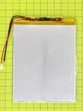Аккумулятор 2588110 3000mAh 2.5x88x110, orig-china