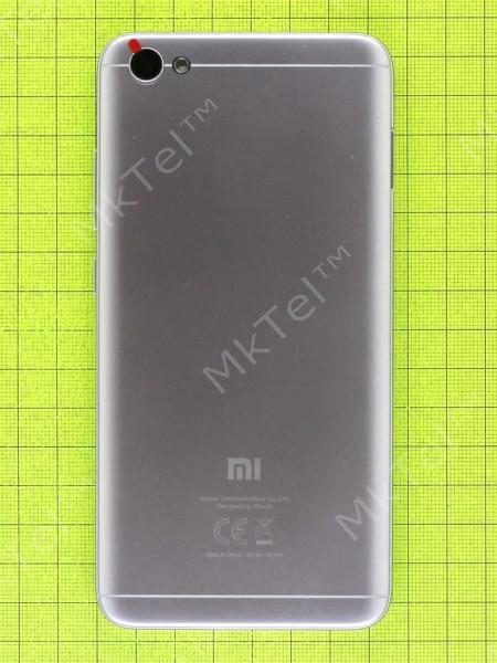 Задняя крышка Xiaomi Redmi Note 5A, серый, Оригинал