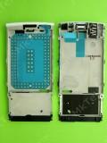 Металлическая основа Nokia X3-02, в сборе, белый, Оригинал #0257372