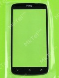 Стекло передней панели HTC One S Z520e, черный copy