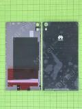 Задняя крышка Huawei Ascend P6, черный self-welded
