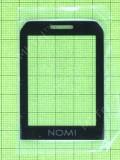 Стекло дисплея Nomi i245 X-Treme, черный Оригинал