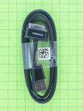 USB кабель Samsung Galaxy Tab P1000 30pin, черный copyA