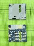 Коннектор SIM карты HTC Desire 300, orig-china